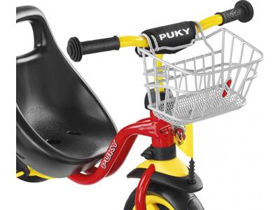 Korg till styre för trehjuling och sparkcykel