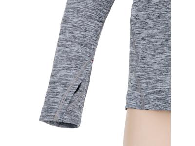 Sensor Motion - Langærmet t-shirt - Dame - Gråmeleret