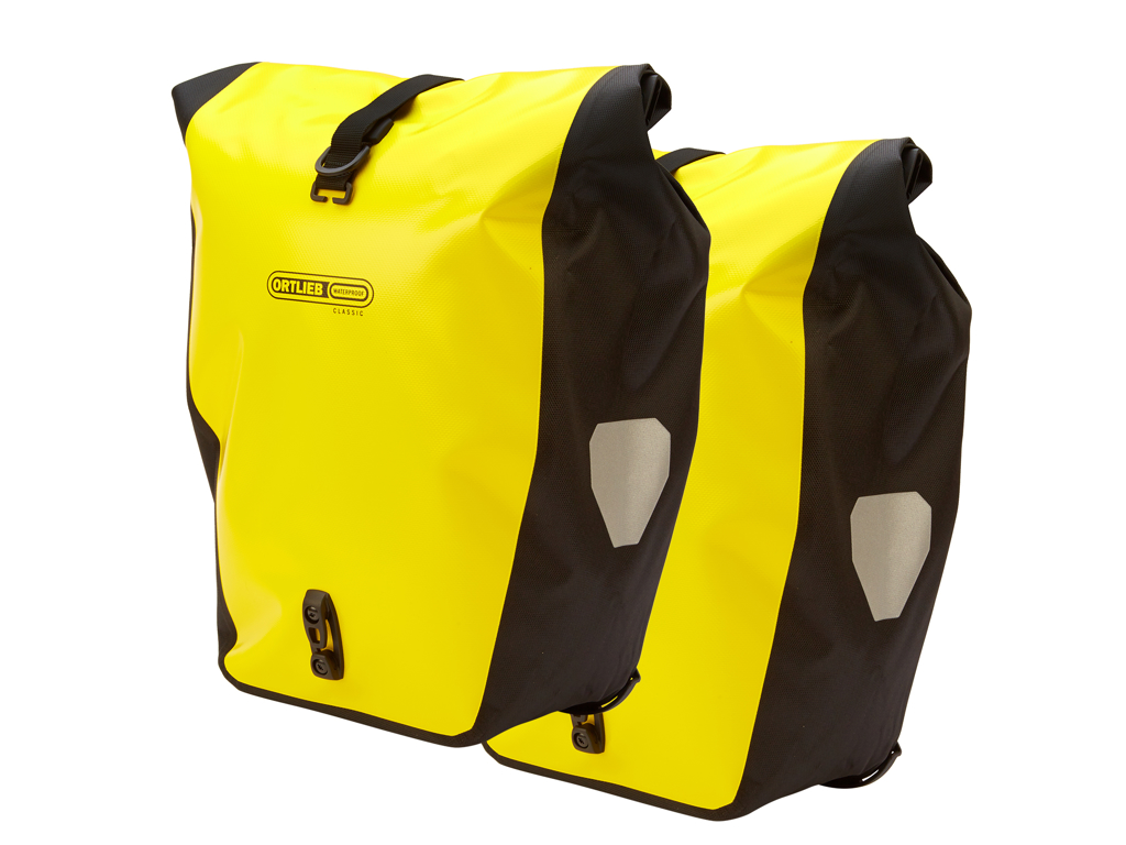 Image of   Ortlieb - Back-Roller Classic - Gul/Sort 2x20 liter