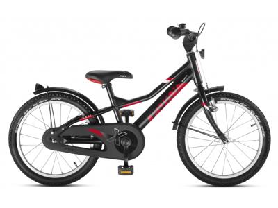 "Puky - Børnecykel ZLX Alu 18"" - Sort/rød"