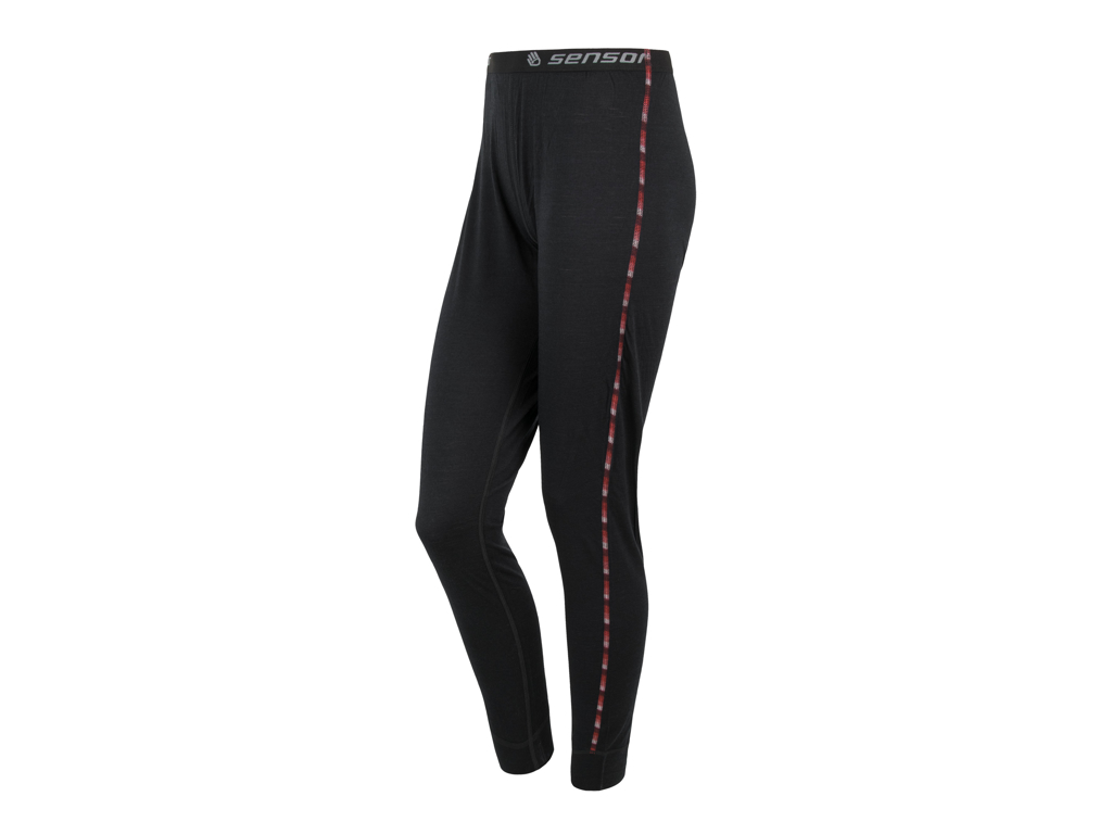 Image of   Sensor Merino Air Pants - Uldunderbukser m . Lange ben - Dame - Sort - Str. XL