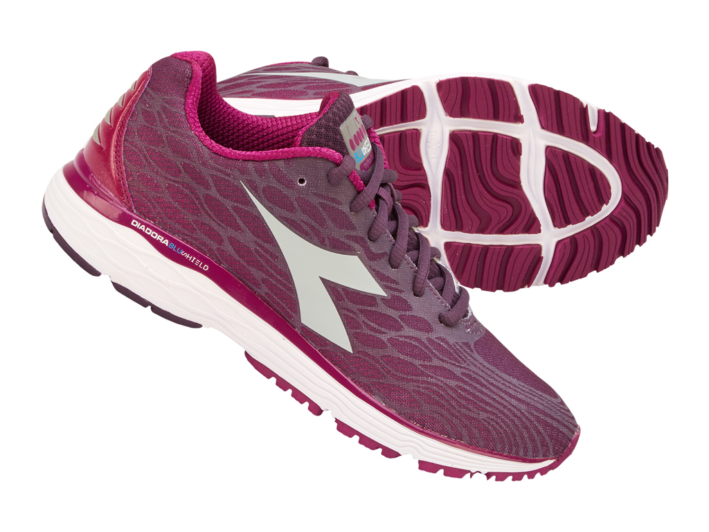 Image of   Diadora - Mythos Blushield Fly 2 - Dame- Str. 36,5 - Plum/Violet