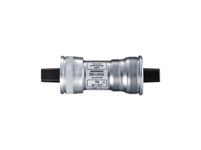 Shimano BB-UN55 - Krankboks 70-113 mm - Italiensk med firkantet aksel