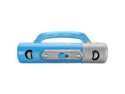 Kryptonite bøjlelås - Kryptolok 2 Mini 7 - U-Lock 8,2x17,8cm - Blå