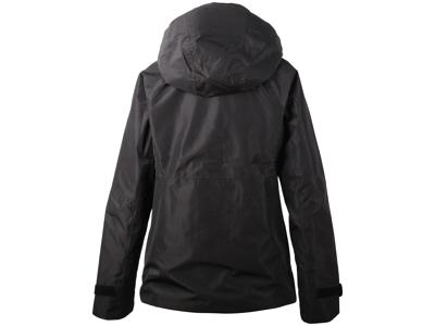 Didriksons Stratus Womens Jacket - Regnjakke dame - Sort