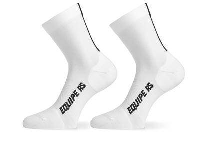 Assos RS Socks - Cykelstrømpe - Hvid