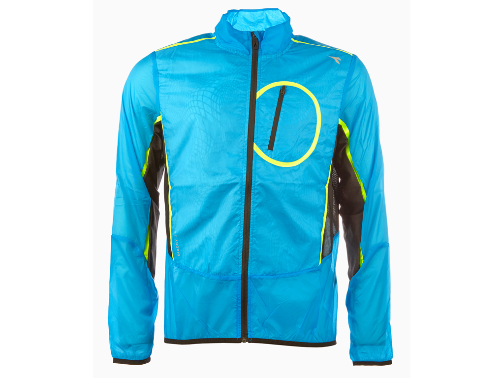 Diadora løbejakke - Herre - Wind Jacket - Blå - Str. L thumbnail