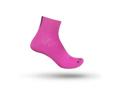 GripGrab Lightweight SL Short 3017 - Cykel Stocking Card - Hi-Vis Pink
