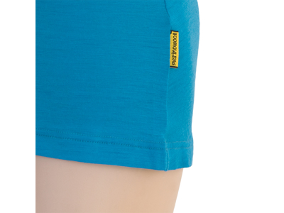 Sensor Merino Active Tee NS - Uldundertrøje u. ærme - Dame - Blå