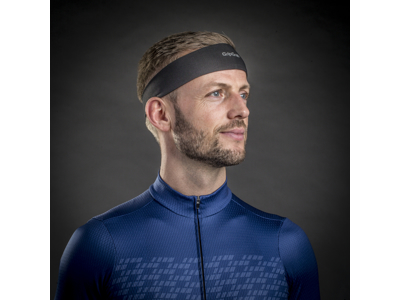 GripGrab Summer Sweatband 5023 - Pandebånd - Sort - One Size