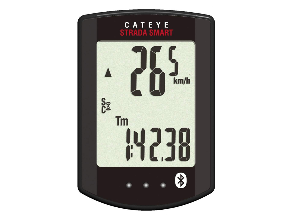 Cateye - Strada Smart - Cykelcomputer CC-RD500B - 12 funktioner - Bluetooth thumbnail