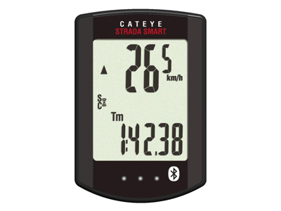 Cateye - Strada Smart - Cykelcomputer CC-RD500B - 12 funktioner - Bluetooth