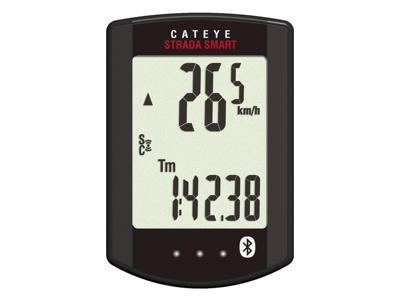 Cateye - Strada Smart - Cykeldator CC-RD500B - 12 funktioner - Bluetooth