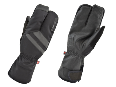 AGU Essential Deep Winter Cykelhandske - Svart - Str. XS