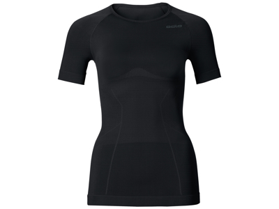 Odlo dame shirt - EVOLUTION LIGHT - Sort - Str. S