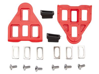 Look-klamper - Type Delta - Rød - Inkl. skruer og beslag