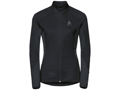 Odlo - Zeroweight Windproof Warm - Løbejakke - Dame - Sort