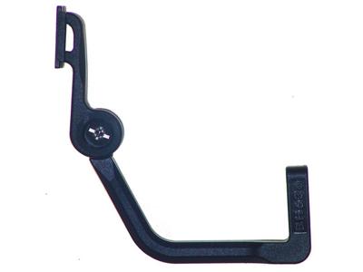 Lygteholder til montering ved forgaffel eller baggaffel bro