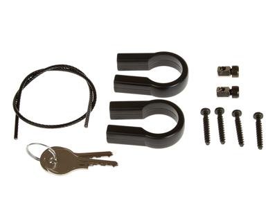 Styradapter med lås KLICKfix til kurv og tasker til styr.