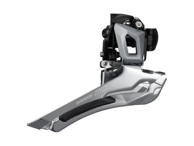 Shimano 105 Forskifter sølv - FD-R7000FS - til 2 x 11 gear -  til direkte montering