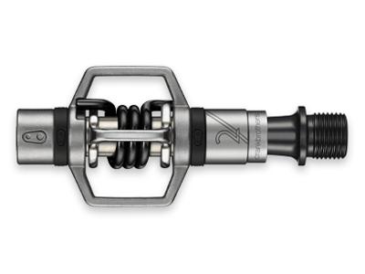 Crankbrothers Eggbeater 2 - MTB pedaler - Sølv/Sort
