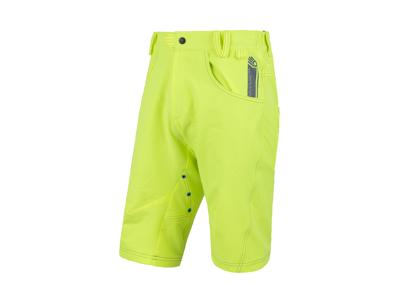 Sensor Charger Shorts - Cykelshorts m. pude - Gul