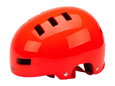 Met Yoyo - Cykel- og skaterhjelm - Rød - Str. 51-55 cm