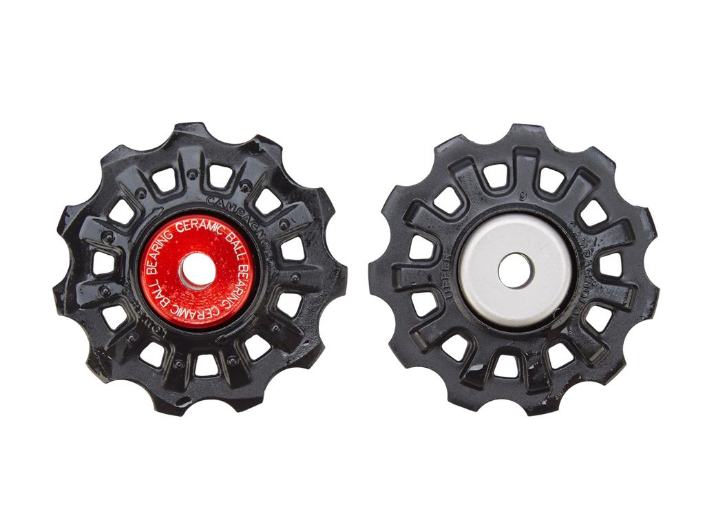 Image of   Campagnolo Super Record - Pulleyhjul 11 tands til 11 gears bagskifter - 8,4 mm - Sæt af 2