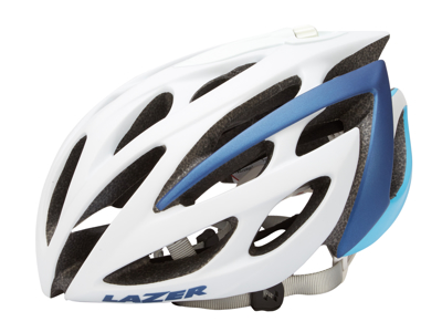 Lazer - Cykelhjelm - Monroe - Hvid/blå - 52-56 cm