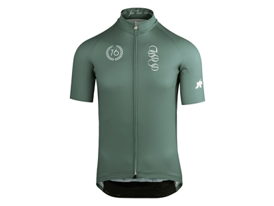 Assos ForToni Short Sleeve Jersey - Cykeltrøje - Grøn - Str. L