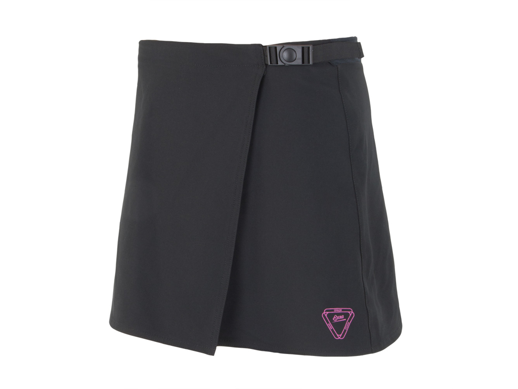Image of   Sensor Luna Skirt - Cykelnederdel m. shorts og pude - Sort - Str. L