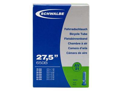 Schwalbe slange 27,5x1,50/2,40 med Auto ventil AV21