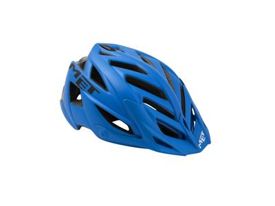 Met Terra - Cykelhjelm - Mat Blå/Sort - Str. 54-61 cm
