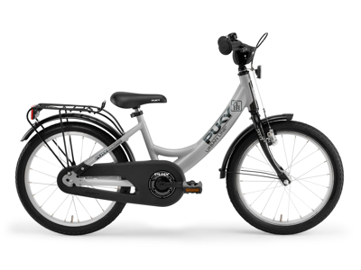 "Puky ZL 18 - Børnecykel 18"" i alu - Grå/sort"