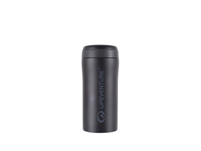 LifeVenture Thermal Mug - Termomugg - 0,3 l - Matt Svart