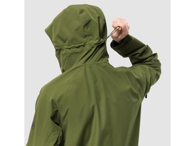 Jack Wolfskin Skei Trail JKT Men - Vandtæt herrejakke - Grøn