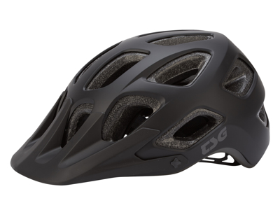 TSG Cykelhjelm - Seek solid color - MTB - Satin black