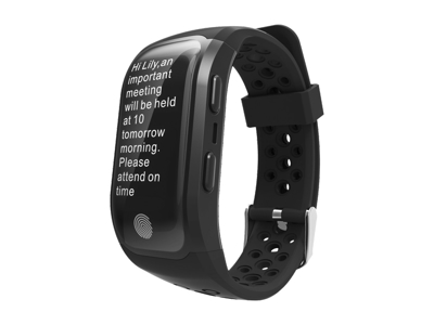 Atredo - Smartwatch - Med GPS - S908 - Touch screen - Svart