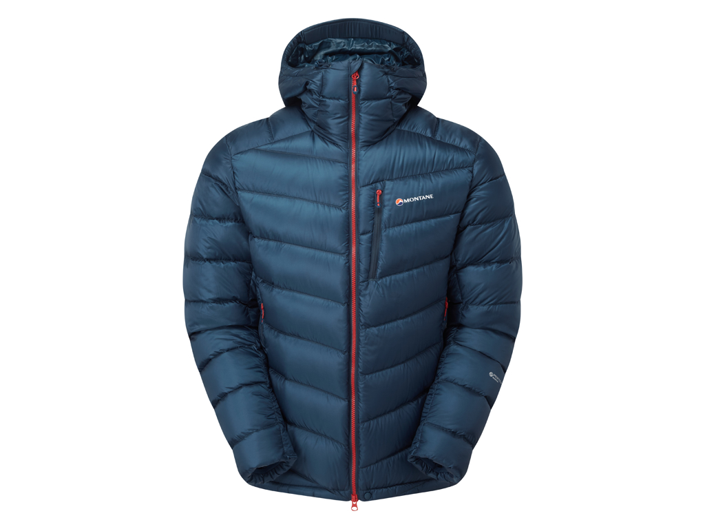 Montane Anti-Freeze Jacket - Dunjakke - Herre - Blå - Str. XL thumbnail