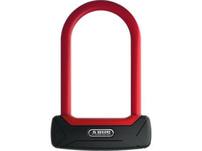 Abus 640 Granit Plus - Bygellås - Röd - 15cm