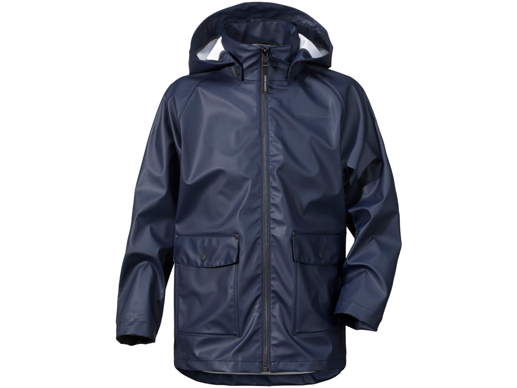 Image of   Didriksons Mick Boys Galon Jacket - Regnjakke Børn - Navy - 160
