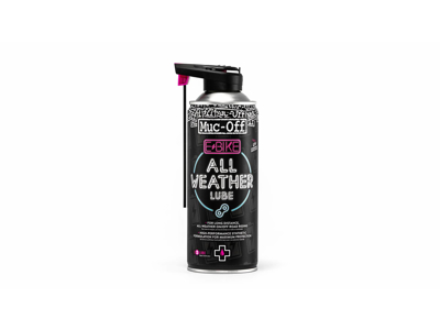 Muc-Off E-Bike All Weather - Kædespray til El-Cykler - 400 ml