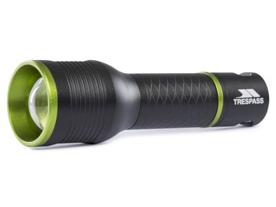 Trespass Illuminate - Aluminiums-lommelygte - 350 lumen LED - Sort