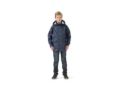 Didriksons Mick Boys Galon Jacket - Regnjakke Børn - Navy