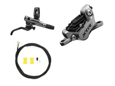 Shimano XTR Trail M9120-XSA - Hydraulisk bremsesæt - Bag/Højre - Resin klodser