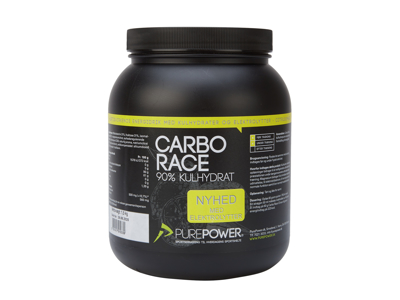 PurePower Carbo Race Elektrolyt - Energidrik - Citrus - 1,5 kg