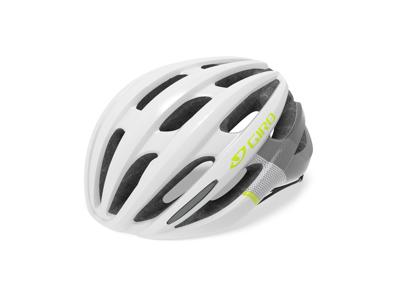 Giro Saga - Cykelhjelm Woman - Hvid/Citron