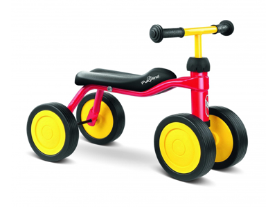 Springcykel Puky Pukylino - från 1 år/ 75 cm Röd