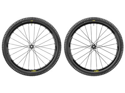 Mavic XA Elite - MTB hjulsæt inkl. dæk - Sort - 29x2,35