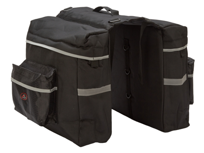 Easydo - ED-0086 - Taske til bagagebærer - Elcykel - 22 Liter - Sort